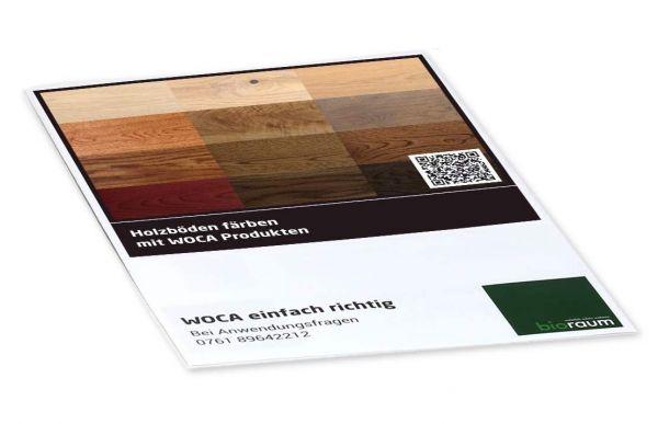 Holz mit Colouröl einfärben