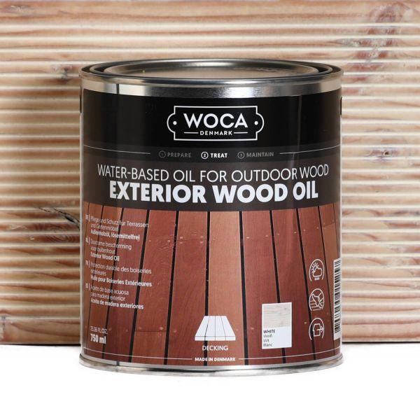 Gartenmöbelöl Exterior Öl Weiß 0,75 Liter