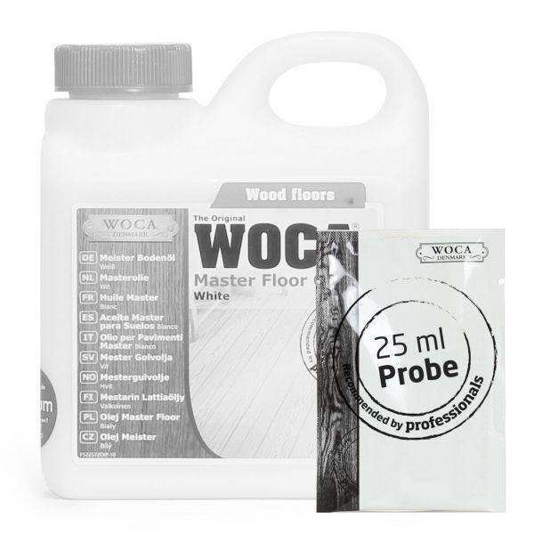 Meister Bodenöl weiß ca. 25 ml Probe