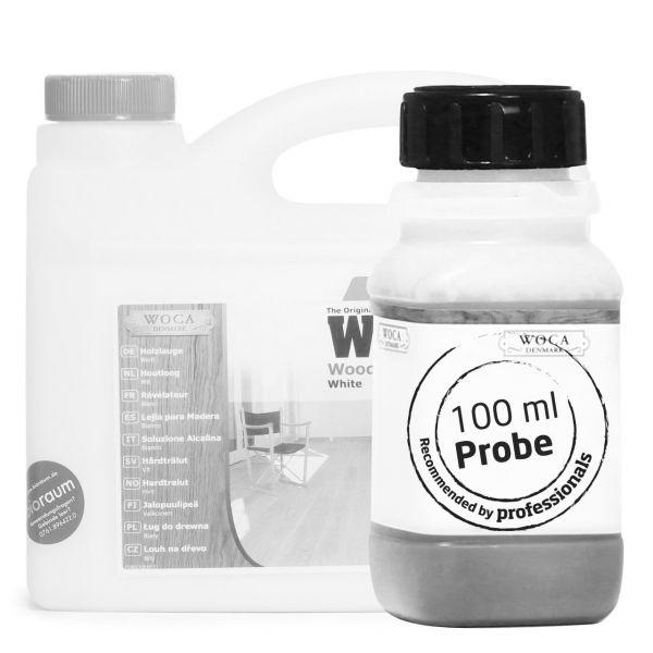 Holzlauge weiß ca. 100 ml Probe