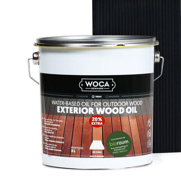 Terrassenöl Öl Schwarz 20% Extra