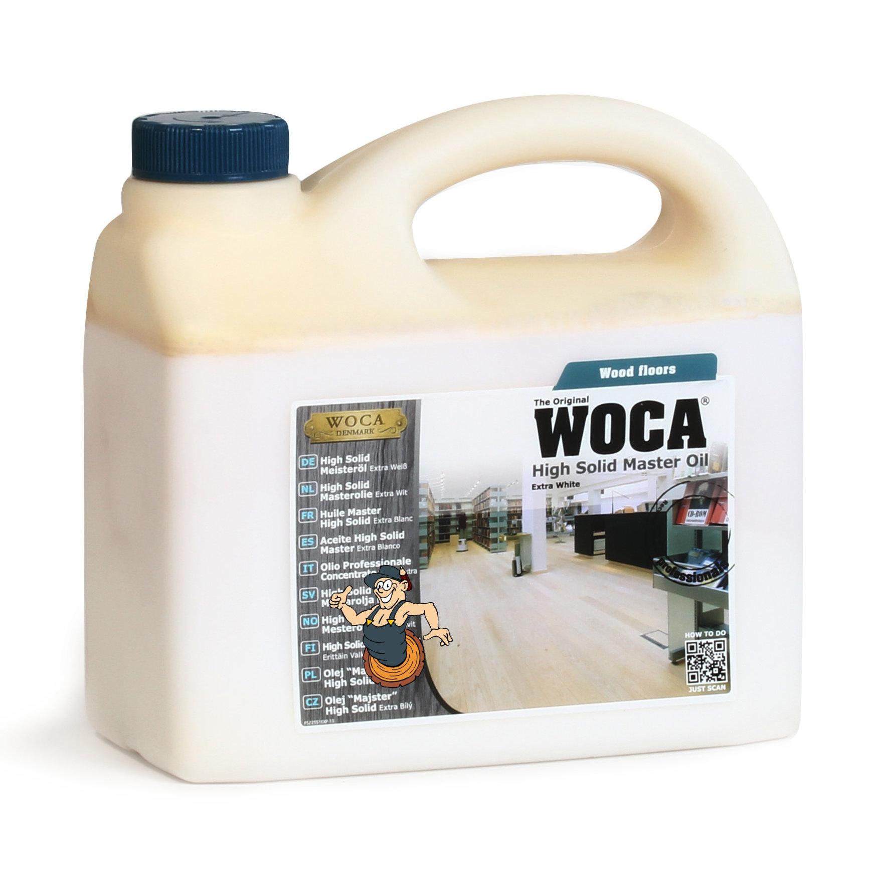 WOCA High Solid Meisteröl Extraweiß