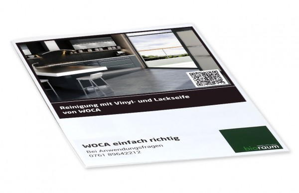 Vinyl- und Lackseife