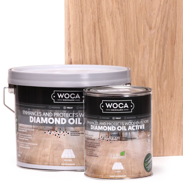 Diamant Öl Aktiv Weiß