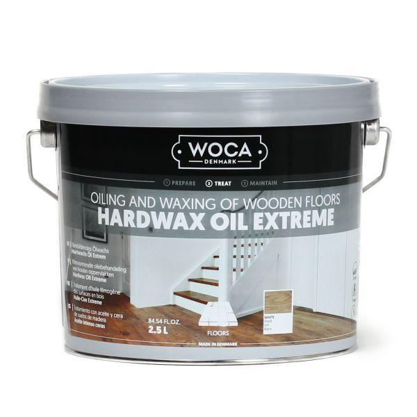 Hartwachsöl Extrem weiß 2,5 Liter