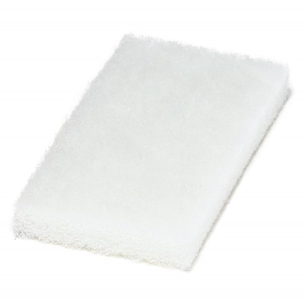Weißes Super-Polierpad klein