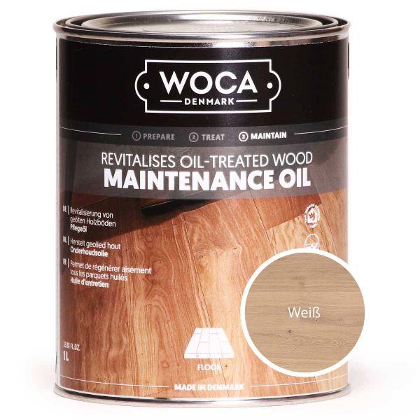 Pflegeöl weiß / WOCA maintenance oil