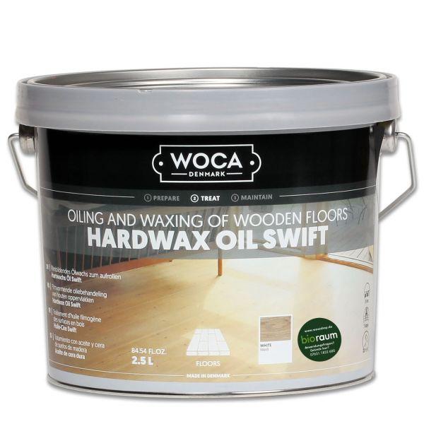 Hartwachsöl Swift seidenmatt weiß 2,5 Liter