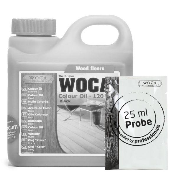 Meister Colour Öl schwarz (120) Probe ca. 25 ml