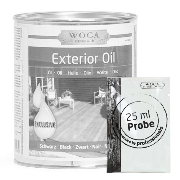Gartenmöbel / Terrassenöl schwarz ca. 25 ml Probe