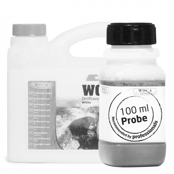 Treibholzlauge weiß ca. 100 ml Probe
