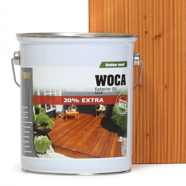 Terrassenöl Exterior Öl Lärche 20% extra