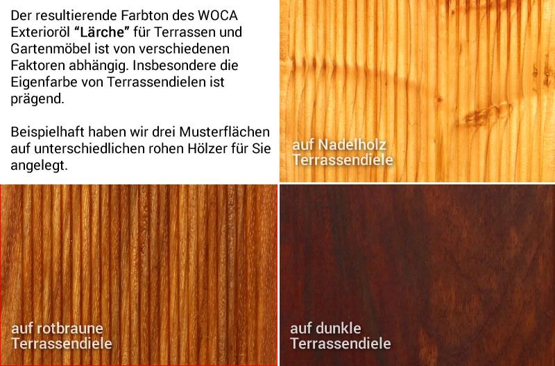 Bekannt WOCA Exterior Wood Öl – Terrassenöl Lärche – Exterior Oil NV39