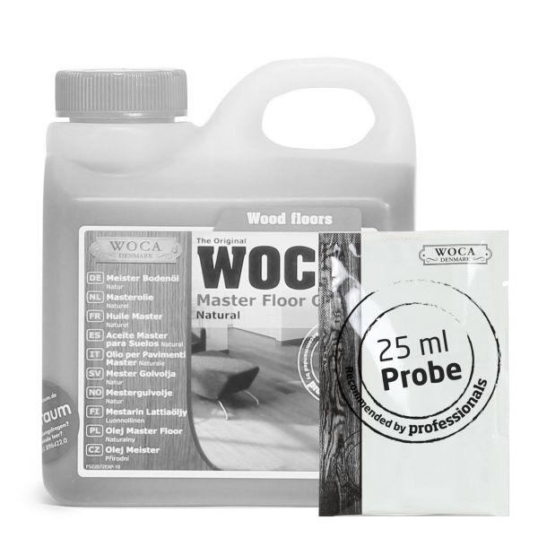 Meister Bodenöl natur ca. 25 ml Probe