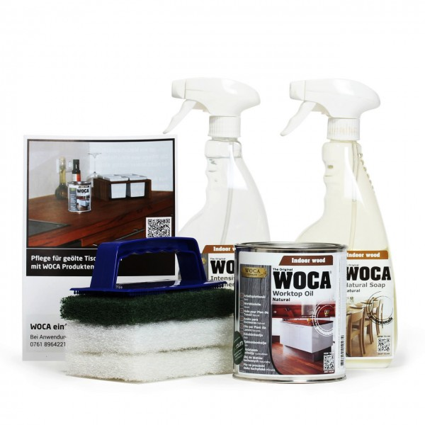 Arbeitsplatten shop  WOCA Arbeitsplatten Set natur | WOCA Shop