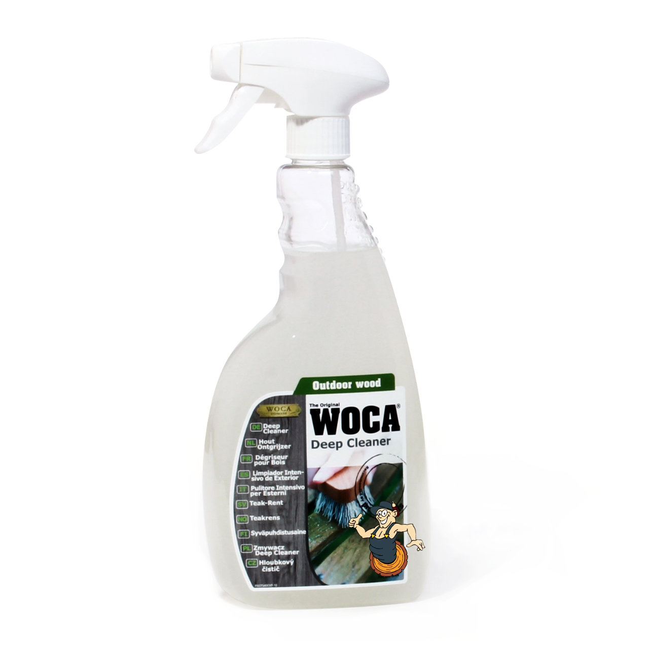 WOCA Deep Cleaner 2 in 1