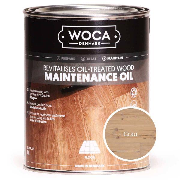Pflegeöl grau 1 Liter / WOCA maintenance oil