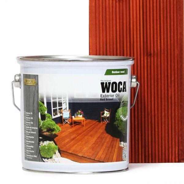 Terrassenöl Exterior Öl Rotbraun 2,5 Liter