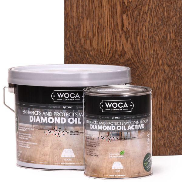 Diamant Öl Aktiv Smoke Braun