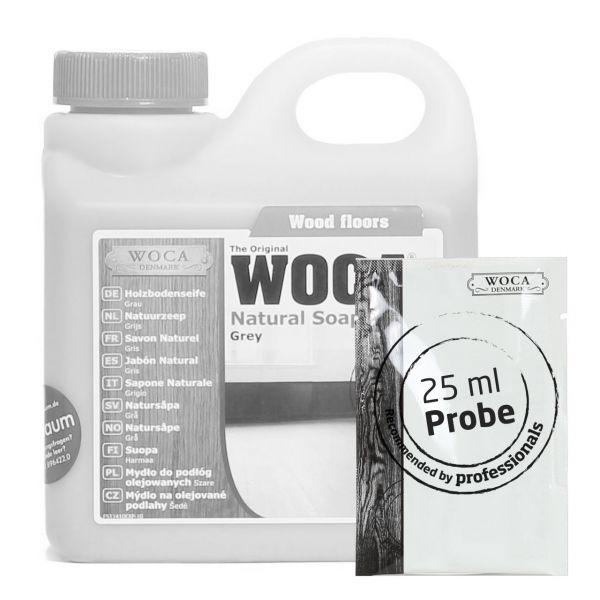 Holzbodenseife grau ca. 25 ml Probe
