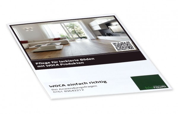 Pflegeplan für lackierte Böden