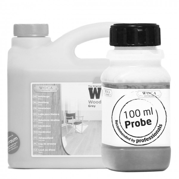 Holzlauge grau ca. 100 ml Probe