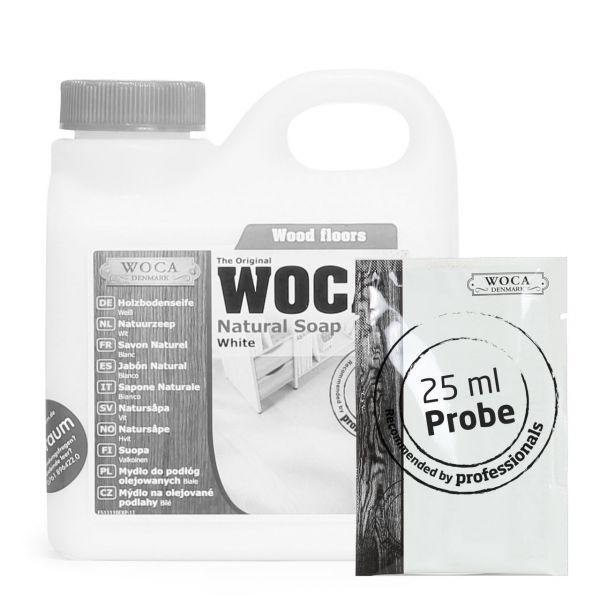 Holzbodenseife weiß ca. 25 ml Probe