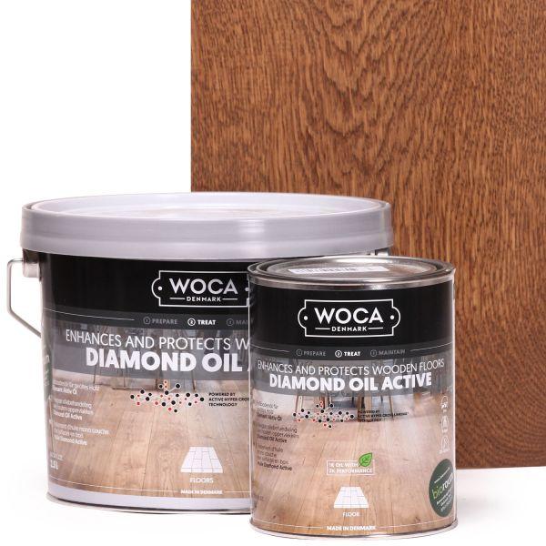 Diamant Öl Aktiv Schokobraun