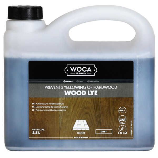 Holzlauge grau 2,5 Liter