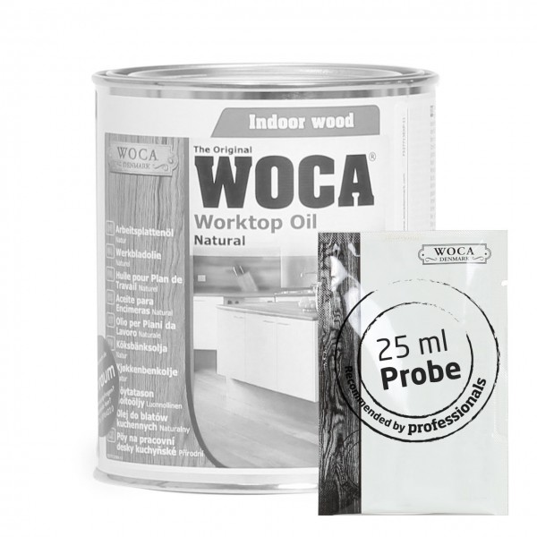 Arbeitsplattenöl, natur ca. 25 ml Probe