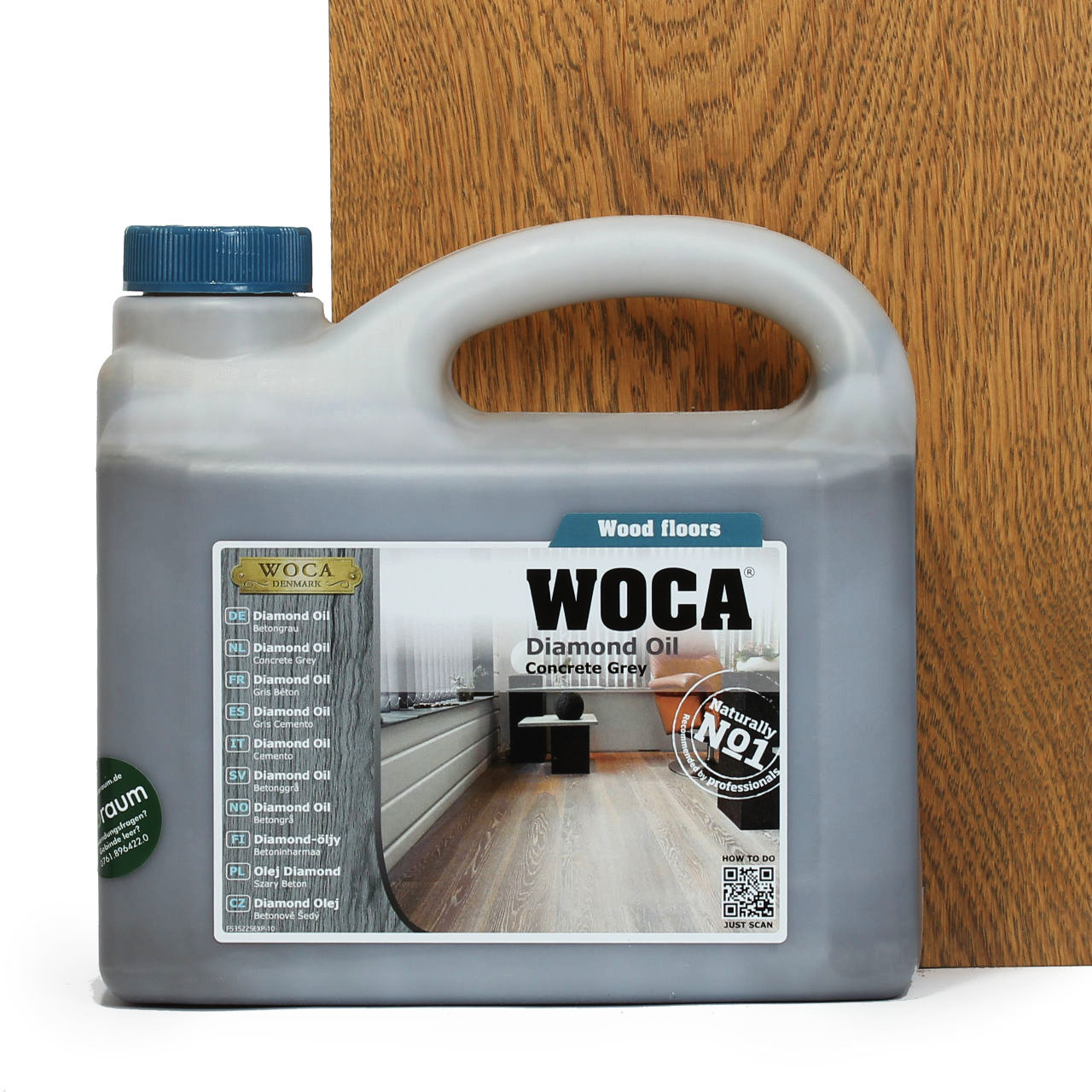 woca diamond l betongrau 2 5 liter woca shop. Black Bedroom Furniture Sets. Home Design Ideas