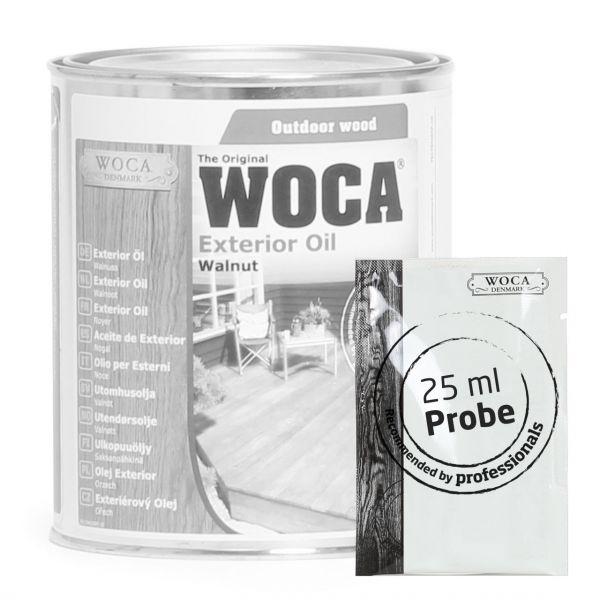 Gartenmöbel / Terrassenöl Walnuß ca. 25 ml Probe