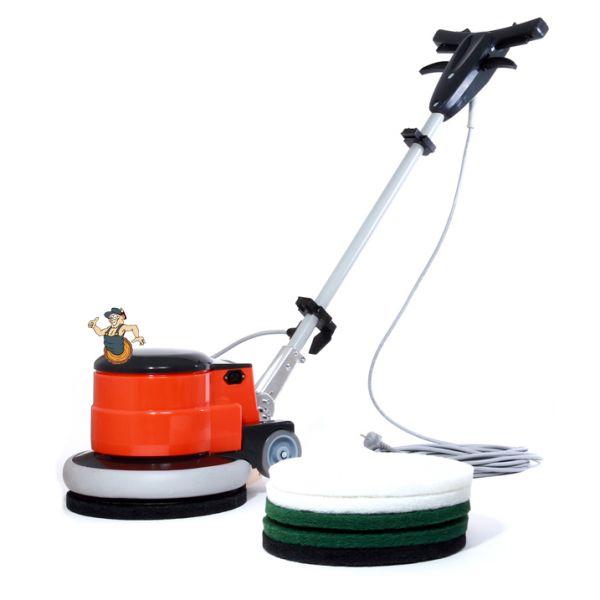 Reinigungs- und Poliermaschine 13 Zoll (Komplettset)